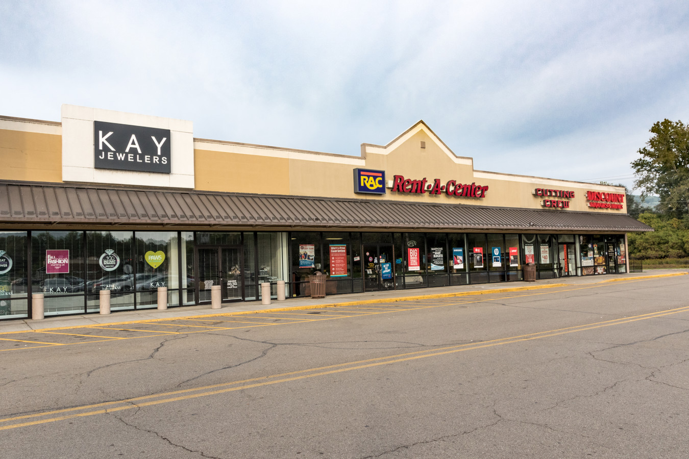 Kay Jewelers and Rent A Center
